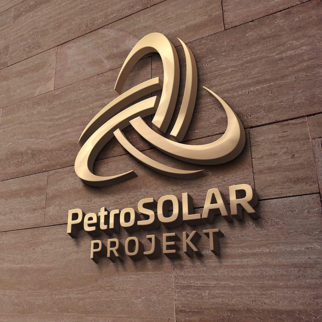 PetroSOLAR 3D logo
